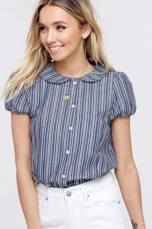 Tops from Just Six Club- a boutique in Lambertville, NJ